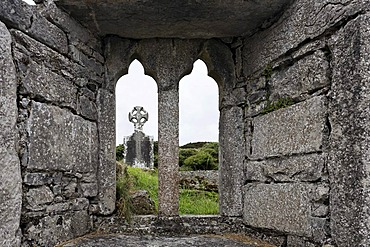 Historical site seven churches , Inis Mor, Aran Islands, Ireland