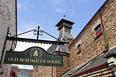 Bushmills Whiskey Distillery, Bushmills, Londonderry, North Ireland