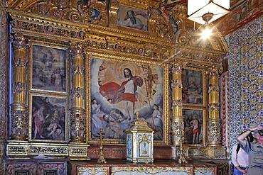 Resurrection chapel in the Convento de Santa Clara, Funchal, Madeira, Portugal