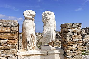 House of Cleopatra , Delos, Greece
