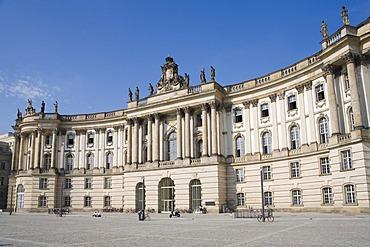 Faculty of law, Humboldt University, Bebelplatz, Unter den Linden, Berlin, Germany, Europe