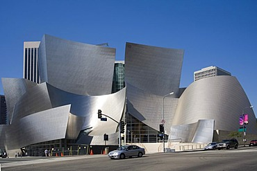 Walt Disney Concert Hall, Bunker Hill, Downtown, Los Angeles, California, USA