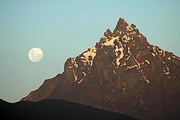 Mountain nearby Ushuaia, Tierra del Fuego, Argentina
