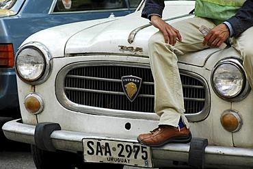 Historic Peugeot in Montevideo, Uruguay