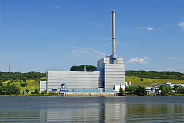 Atomic power plant Kruemmel in Geesthacht, Schleswig-Holstein, Germany