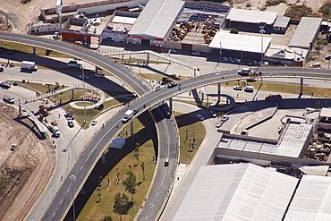 Aerial view of Torreon, Coahuila, Mexico, America