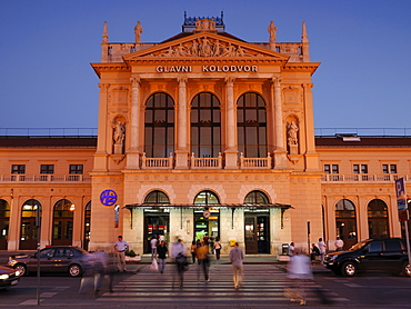 Zagreb Railway Station, Croatia, Europe