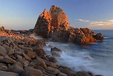 The Pinnacles and the Tasman Sea on Phillip Island, Victoria, Australia