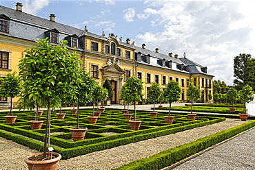 Gallery building, Herrenhaus Gardens, Hanover, Lower Saxony, Germany, Europe