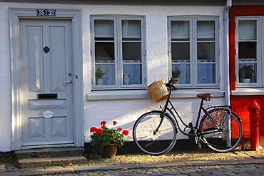 House entrance, Odense, Denmark, Europe