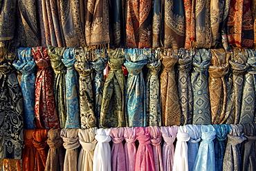 Scarves, Burano, Burano Island, Venice, Veneto, Italy, Europe