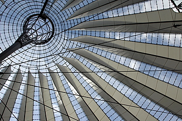 Sony Center at Potsdamer Platz in Berlin, Germany, Europe