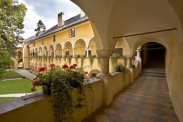 Millstatt monastery, Carinthia, Austria