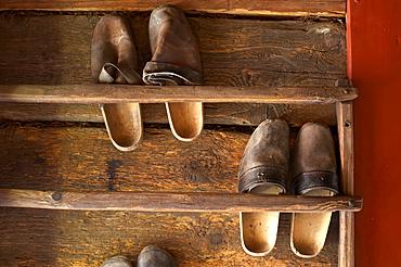 Shoes, Maria Saal open air museum, Carinthia, Austria