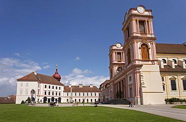 Benedictine Monastery's Collegiate Church Goettweig Abbey, Wachau, Austria, Europe
