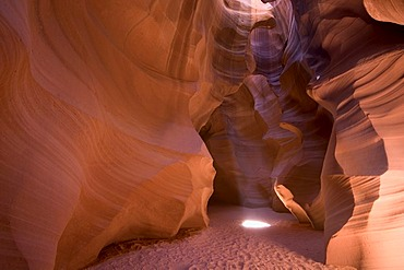 Upper Antelope Canyon, Colorado River, Arizona, USA