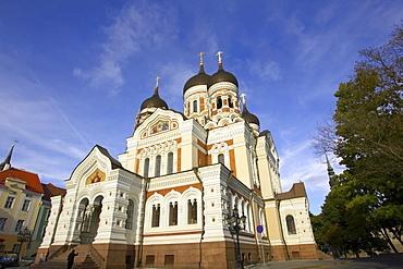 Alexander Nevsky Cathedral, Tallinn, Estonia, Baltic States, Northern Europe