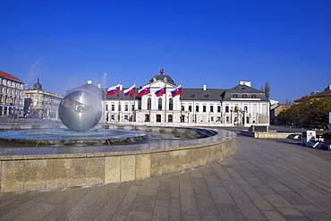 Grassalkovich Palace, Bratislava, Slovakia, Europe