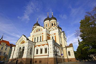 Alexander Nevsky Cathedral, historic centre, Tallinn, Estonia, Eastern Europe