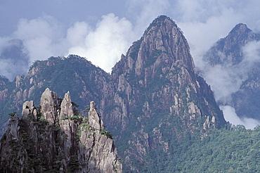 Yellow Mountain, Huangshan Mountains, China, Asia