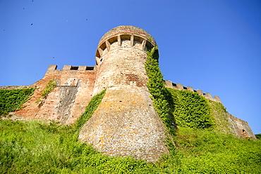 Castle in Certaldo, Tuscany, Italy, Europe