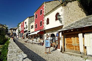 Historic centre of Mostar, UNESCO World Heritage Site, Bosnia and Herzegovina, Balkans, Europe