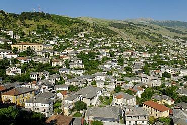 Historic centre of Gjirokaster, UNESCO World Heritage Site, Albania, the Balkans, Europe