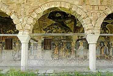 St. Athanasius Church, Kisha e Shen Thanasit, Voskopoje, Albania, Balkan Range, Europe