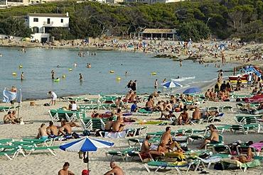Beach, Cala Agulla, Cala Rajada, Majorca, Balearic Islands, Spain