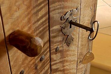 Old key, finca hotel Son Cosmet, Campos, Majorca, Balearic Islands, Spain