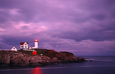 Cape Neddick Light, Nubble Light, York, Maine, USA