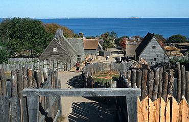 Plimoth Plantation open air museum, Plymouth, Massachusetts, USA