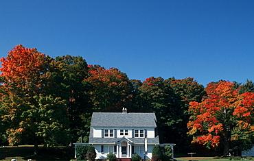 House, Mohawk Trail, Massachusetts, USA