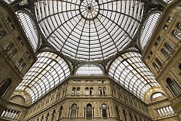 Galleria Umberto, nineteenth-century public gallery in Naples, Campania, Italy