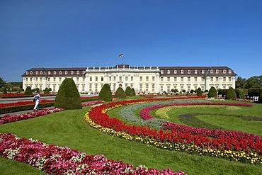 Ludwigsburg castle in Ludwigsburg, Germany