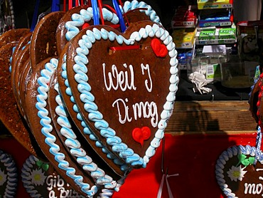 Heart of gingerbread