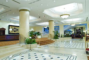 Lobby, JW Marriott Grand Hotel, Bucharest, Romania