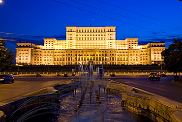 House of Nation, House of Government, Bucharest, Romania