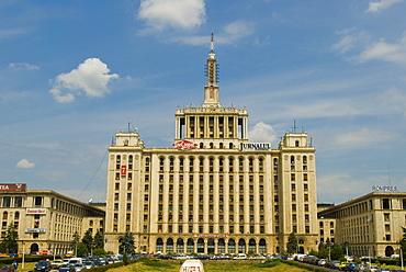 Press center , Bucharest, Romania