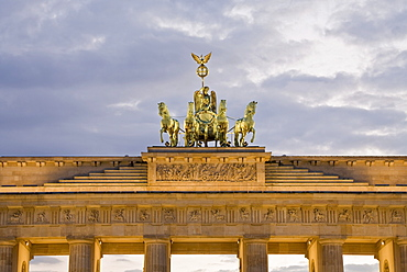 Quadriga on the Brandenburg Gate, Berlin, Germany