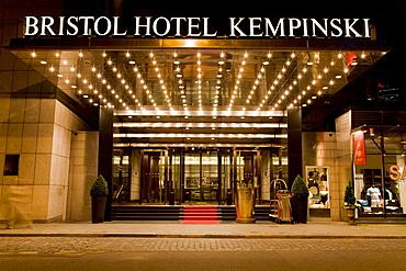 Foyer Bristol hotel Kempinski, Berlin, Germany