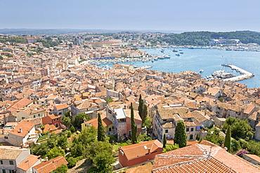 Harbour of Rovinj, Istrien, Croatia