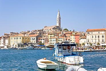 Harbour of Rovinj, Istria, Croatia