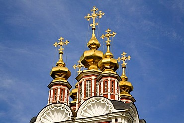 New Maidens Monastery Tower of the Gate Church, Moscow, Russia, East Europe, Europe