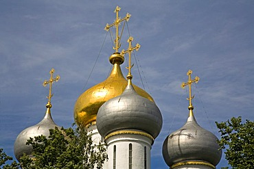 New Maidens Monastery, the Smolensk Cathedral, Moscow, Russia, East Europe, Europe