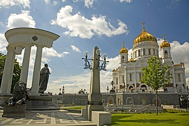 Memorial of Zar Alexander I. Moscow, Russia, East Europe, Europe
