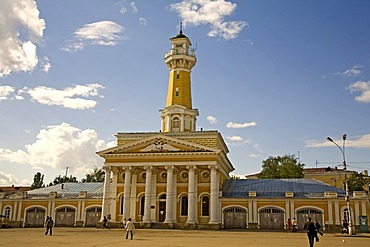 Historic fire-observation watchtower, Kostroma, Russia