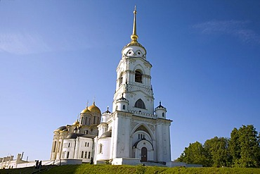 Bell tower of the Assumption Cathedral, Vladimir, Russia