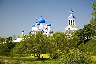 The church of the Nativity of the Holy Virgin and Assumption cathedral, Bogoljubovo, Vladimir, Russia