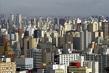 Skyline of Sao Paulo, Brazil